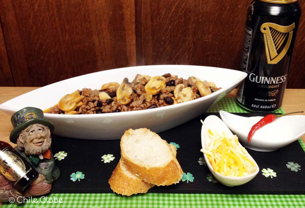 Una Receta Picante Para Saint Patrick, Carne Con Guinness Y Chile