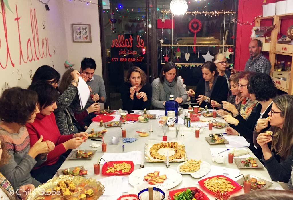 chileglobe-taller-aperitivos-picantes-navidad